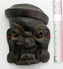 SUPER RARE! & Unusual Bhutan Buddhist Shamanic Exorcism Mask