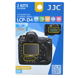 JJC LCP-D4 LCD Guard Film Camera Screen Display Protector for NIKON D4 D4s DSLR