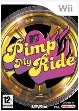 MTV Pimp My Ride Game Wii Nintendo Wii PAL Brand New