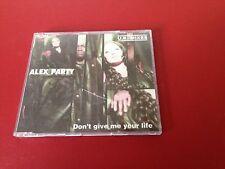 Maxi CD Alex Party - Don´t give me your life U.K. Mixes