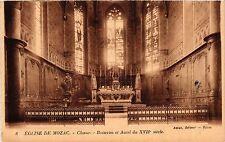 CPA Eglise de MOZAC Choeur - Boiseries et Autel (409611)