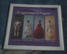 MOZART THE MARRIAGE OF FIGARO RCA 25009/12/ 4 LP SET RED SEAL SILVER SPOT MONO