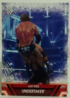 2017 TOPPS WWE FINISHERS & SIGNATURE MOVES UNDERTAKER LAST RIDE NO. F-12