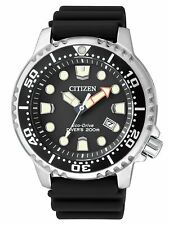 Citizen Eco-Drive Promaster Sea Mens 200m Dive Watch. ISO 6425 Cert BN0150-10E
