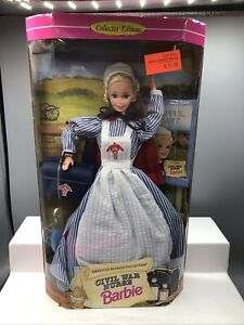 Barbie Civil War Nurse Special Edition #14612 Mattel 1995 NRFB
