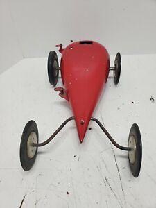 1962 McCoy teardrop tether car vintage race streamliner 60 mcCoy ignition engine