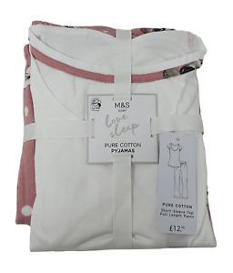 Ex M & S Marks & Spencer Ladies Girls Rabbit Pyjamas PJs New Tagged Cotton