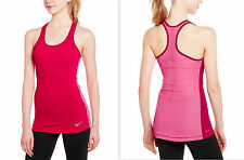 6b1dc3993db814 Nike Size XL Dri-Fit Pro Hypercool Tank Top Activewear Fuschia Force Pink