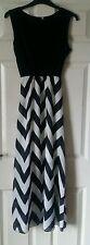 Summer/Beach Striped Chiffon Maxi Dresses for Women