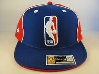 All Star Game 2004 NBA East Reebok Fitted Hat Cap Size 7 5/8 Blue Red