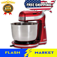 Electric Stand Mixer Baking Machine Kitchen Dough Bread Cake Cooking 6 Speed