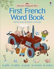 First French Word Book (Farmyard Tales First Words)-ExLibrary