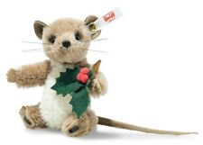 Steiff Holly Mouse - Limited Edition 2018 Christmas / Holiday - 006241