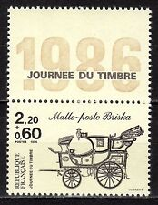 France - 1986 Stamp Day / Coach - Mi. 2542C MNH