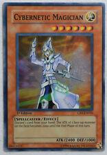 1st Edition Cybernetic Magician Super Rare YuGiOh Card CRV-EN016 LP