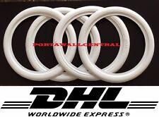 17.5 inch White Wall Portawall Tire insert Trim set For Car 4x.