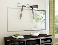 Rocelco SBM Sound Bar Mounting Kit Brackets. Attaches to Top or Bottom of TV.
