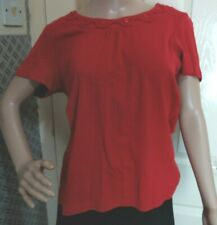 Klass Size Medium Red Short sleeve Top