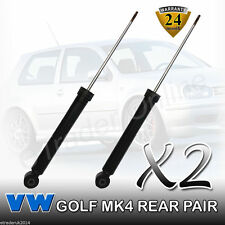 VW GOLF MK4 REAR SHOCK ABSORBERS NEW 1998>2006 (PAIR) SHOCKS SHOCKERS VOLKSWAGEN