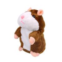 Adorable Toy Pet Speak Talking Record Hamster Mouse Plush Kids Toy Animal Dolls