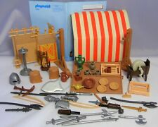 PLAYMOBIL 7855 medieval market stand Marktstand Mittelalter Ritter komplett BA