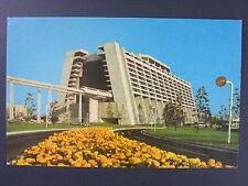 Monorail Train Walt Disney World Color Chrome Postcard c1960s Vintage Vtg