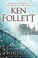 Whiteout by Ken Follett - Audio CD Abridged NEW UNSEALED
