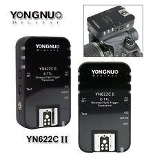 Yongnuo YN-622C II Wireless TTL Flash Trigger for YN560-TX Canon 6D 60D 7D II