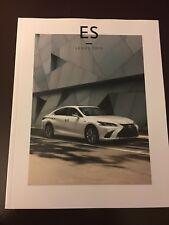 2019 LEXUS ES 50-page Original Sales Brochure