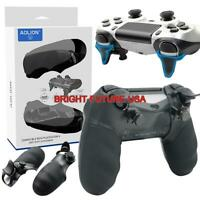 L2 R2 Extended Trigger Button Non-slip Grip Back Cover For Sony PS4 Controller