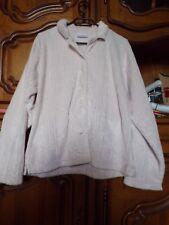 Pyjama rose pale en velours, marque C&A lingerie, taille 42/44