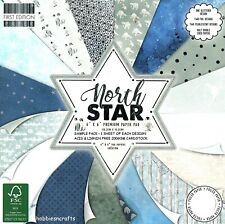 NORTH STAR Dovecraft Christmas 6 x 6 Sample Paper Pack - 16 Sheets 200gsm NEW