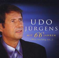 """UDO JÜRGENS """"MIT 66 JAHREN-WAS WICHTIG IST"""" CD NEUWARE!"""