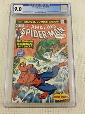 The Amazing Spider-Man 145 CGC 9.0 Scorpion Cover & Gwen Stacy Clone Story 1975!