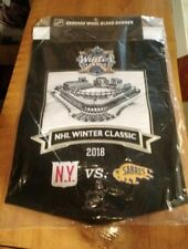 2018 NHL WINTER CLASSIC WOOL BANNER NEW YORK RANGERS BUFFALO SABRES CITI FIELD