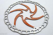 Ashima Airotor Mountain Bike Disc Brake Rotor MTB 180mm 180 mm 112g ORANGE