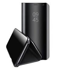 Funda Flip Cover Samsung Galaxy S8 Clear View Negro Libro Tapa Espejo Carcasa