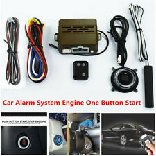 Car SUV Alarm System Security Induction Remote Control Push Button Engine Start