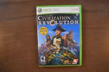 Sid Meier's CIVILIZATION REVOLUTION (Xbox 360, 2008)