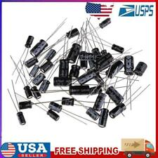 120pcs 1uf470uf 10 Value Electrolytic Capacitors Assortment Kit Assorted Set