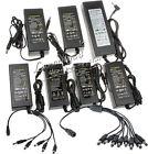 12V 2A 3A 5A 8A 10A LED CCTV Security Camera DVR DC Power Supply 1 to N Splitter