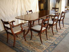 Mahogany Extending Table With 6 Matching Chairs-Collection Only!