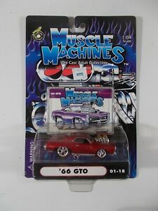 Muscle Machines 1/64 '66 GTO 01-18