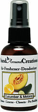 Premium Concentrated Air Freshener - 2oz - Scent: Cucumber Melon-Room Deodorizer