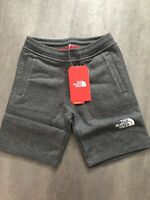 The North Face Boys Grey Fleece Shorts - Size SMALL - New with Tag
