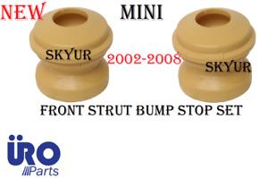 Front Strut Bump Stop Set Of x2 2002-2008 Mini Cooper R50 R52 URO