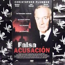 FALSA ACUSACIÓN (Michel Poulette) VHS . Christopher Plummer, Marina Orsini