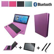 3in1 Bluetooth Tastatur CHUWI eBook Stylus Tablet Stift + folie Lila 10.1