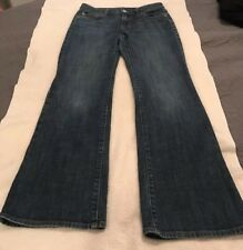 Banana Republic Womens Jeans Size 27/4R Boot cut dark 5 pocket denim