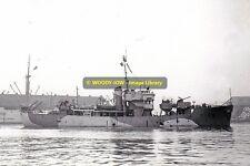 rp13232 - Royal Navy Trawler - HMS Staffa , built 1942 - photograph 6x4